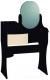 Туалетный столик с зеркалом Глазов Амели 14 (венге) -