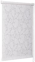 Рулонная штора Delfa Сантайм Глория СРШ-01М 276 (52x170, роза белая) -