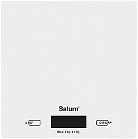 Кухонные весы Saturn ST-KS7810 (белый) -