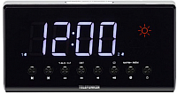Радиочасы Telefunken TF-1552 (черный/белый) -