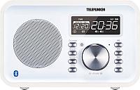 Радиочасы Telefunken TF-1581UB (белое дерево) -