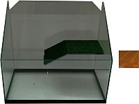 Акватеррариум eGodim Rio (30л, коричневый) -