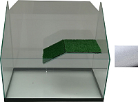 Акватеррариум eGodim Rio (30л, белый) -
