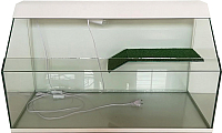 Акватеррариум eGodim Rio (50л, белый) -