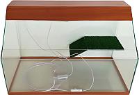 Акватеррариум eGodim Rio (70л, коричневый) -