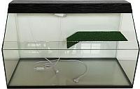 Акватеррариум eGodim Rio (150л, черный) -