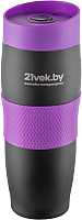 Термокружка 21vek 1186/5 (черный/фиолетовый) -