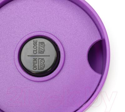 Термокружка 21vek 1186/5 (черный/фиолетовый)