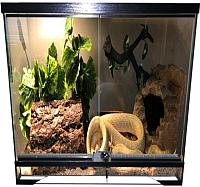 Террариум eGodim Exotica (90л, черный) -