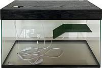 Акватеррариум eGodim Classic (70л, черный) -