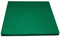 Резиновая плитка Ecoslab 500x500x40 (зеленый) -