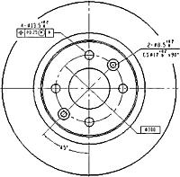 Тормозной диск Patron PBD2586 -