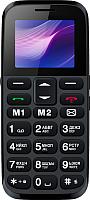 Мобильный телефон Vertex C313 (черный/синий) -