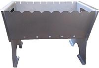 Мангал МВЗ МПС 6.510-0000 (черный) -
