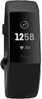 Фитнес-трекер Fitbit Charge 3 / FB409GMBK-EU (Graphite/Black) -