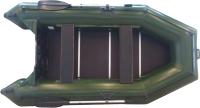 Моторная лодка Vivax Т300 с полом-книгой (с килем, серый/черный) -