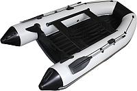 Моторно-гребная лодка Vivax Т300Р НДНД (с килем, серый/черный) -