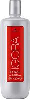Эмульсия для окисления краски Schwarzkopf Professional Igora Royal Oil Developer 6% (1л) -