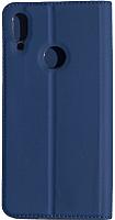 Чехол-книжка Volare Rosso Book для Redmi Note 7 / Note 7 Pro (синий) -