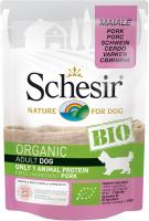 Корм для собак Schesir Bio свинина (85г) -