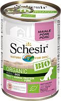 Корм для собак Schesir Bio со свининой (400г) -