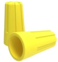 Изолирующий зажим Rexant 07-5219 (100шт, желтый) -