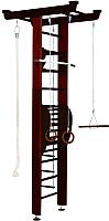 Детский спортивный комплекс Карусель 2Д.04.01 с тренажером для осанки №2 (венге) -