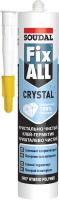 Клей-герметик Soudal Fix All Crystal (290мл, прозрачный) -