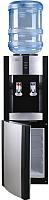 Кулер для воды Ecotronic V21-LE со шкафчиком (черный) -