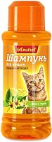 Шампунь для животных Amstrel Кондиционирующий с липой и чередой для кошек (320мл) -
