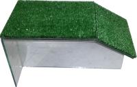Мост для черепах eGodim С искусственной травой (мини) -