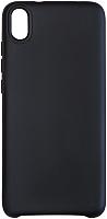 Чехол-накладка Volare Rosso Suede для Redmi 7A (черный) -