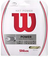 Струна для теннисной ракетки Wilson NXT Power 17 / WRZ941700 -