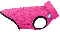 Куртка для животных AiryVest UNI 2507 (XS, розовый/черный) -