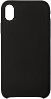 Чехол-накладка Volare Rosso Soft Suede для iPhone XR (черный) -