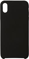 Чехол-накладка Volare Rosso Soft Suede для iPhone XS Max (черный) -