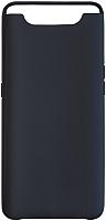 Чехол-накладка Volare Rosso Suede для Galaxy A80 2019 (черный) -