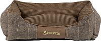 Лежанка для животных Scruffs Windsor / 938574 (коричневый) -