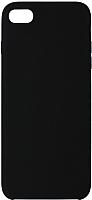 Чехол-накладка Volare Rosso Soft Suede для iPhone 7 / 8 (черный) -
