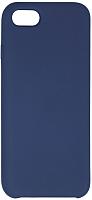 Чехол-накладка Volare Rosso Soft Suede для iPhone 7 / 8 (темно-синий) -