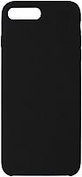 Чехол-накладка Volare Rosso Soft Suede для iPhone 7 Plus / 8 Plus (черный) -