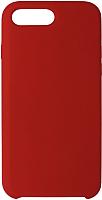 Чехол-накладка Volare Rosso Soft Suede для iPhone 7 Plus / 8 Plus (красный) -
