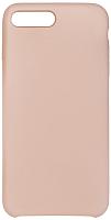 Чехол-накладка Volare Rosso Soft Suede для iPhone 7 Plus / 8 Plus (бежевый) -