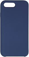 Чехол-накладка Volare Rosso Soft Suede для iPhone 7 Plus / 8 Plus (темно-синий) -