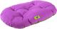 Лежанка для животных Ferplast Relax 55/4 / 82055077 (розовый/черный) -