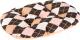 Лежанка для животных Ferplast Relax 55/4 / 82055077 (розовый ромб) -