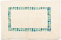 Коврик Arloni Хэлло 1208.1 (50x80, голубой) -