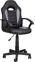 Кресло геймерское Седия Race (серый/черный) -