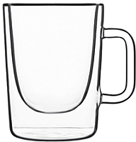 Набор для чая/кофе Luigi Bormioli Thermic Glass / 10972/01 (2шт) -