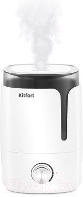 Ультразвуковой увлажнитель воздуха Kitfort KT-2802-1 (белый)